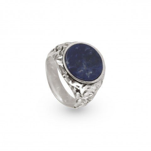 Freedom_Ring_with_Original_Me_Gemstone_Ring_in_brass_with_Sodalite_details