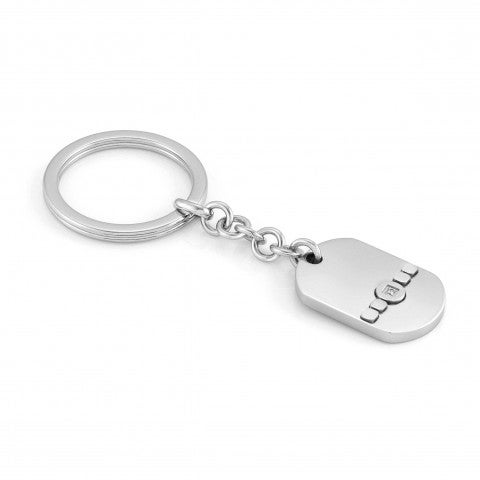 Keychain_Voyage_Stainless_Steel,_Precious_Stones_Keychain_Stainless_Steel_with_Coloured_Stone