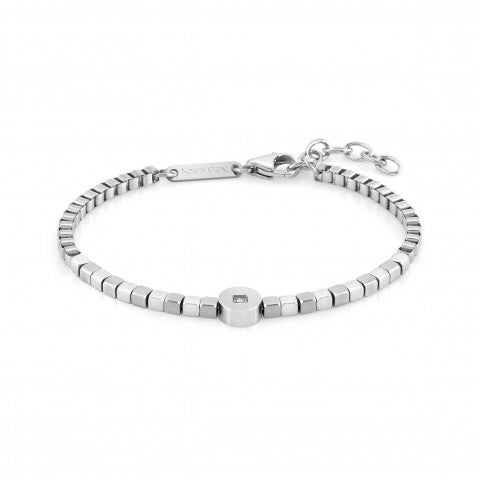 Bracelet_Voyage_Stainless_Steel,_Precious_Stones_Bracelet_with_Details_in_Stainless_Steel_and_Stones