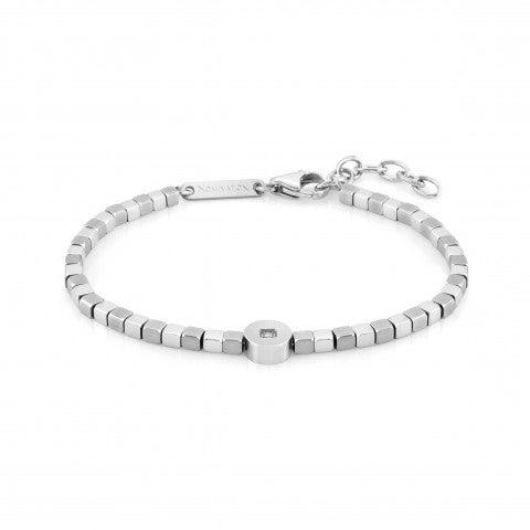 Bracelet_Voyage_Precious_Stones,_Stainless_Steel_Bracelet,_Details_in_Stainless_Steel_and_Precious_Stones