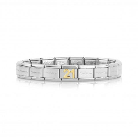 Composable_Classic_Bracelet_with_Number_21_Bracelet_in_gold_and_stainless_steel_with_number
