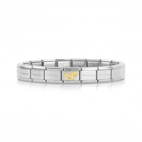Bracciale_Composable_Classic_con_Cane_Bracciale_con_animale_domestico_in_oro_giallo_750
