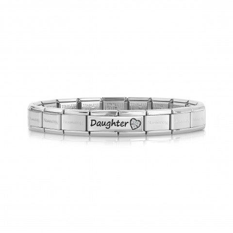 Composable_Classic_Daughter_Bracelet_with_Heart_Bracelet_with_writing_and_Love_symbol_with_Zirconia