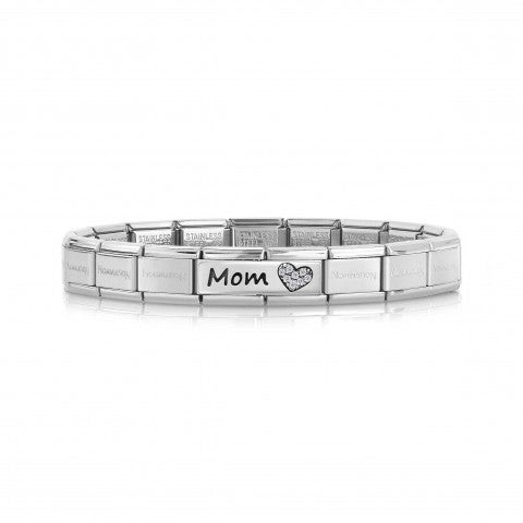Composable_Classic_Bracelet_Mom_writing_Bracelet_with_writing_and_Heart_with_Zirconia
