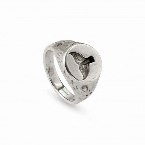 Anello_Freedom_in_ottone_con_coda_di_delfino_Anello_in_Ottone_linea_Sea_Rebel_con_scritta_interna