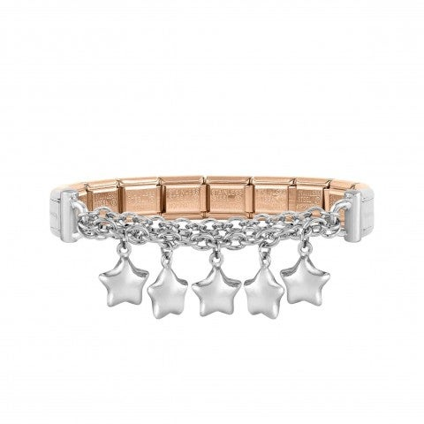 Special_Edition_MIXIT_Bracelet_with_Stars_Women's_bracelet_in_steel_and_silver_with_pendants