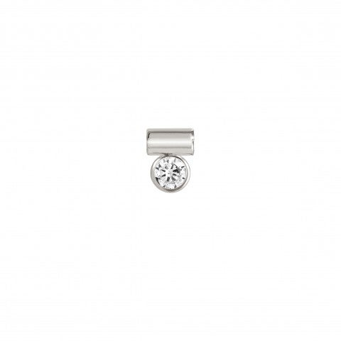 Sei_Mia_Pendant_with_white_Cubic_Zirconia_Symbol_pendant_in_Sterling_Silver_with_Stone