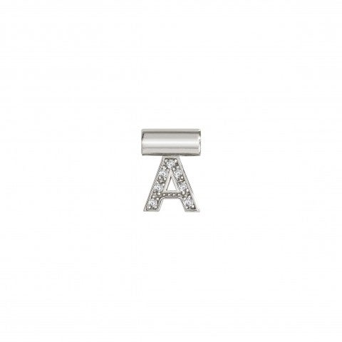 SeiMia_Pendant_with_Letter_A_Letter_in_Silver_and_Cubic_Zirconia
