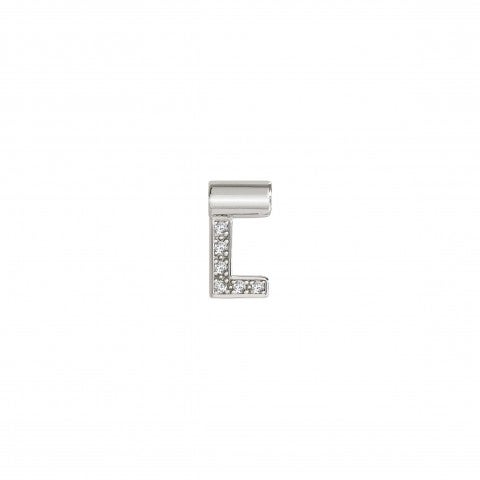 SeiMia_Pendant_with_Letter_L_Letter_in_Silver_with_Cubic_Zirconia