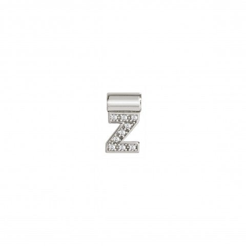 Sei_Mia_Pendant_with_Letter_Z_Alphabetic_letter_in_Sterling_Silver_with_Stones