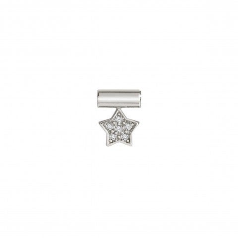 SeiMia_Pendant_with_Star_Symbol_pendant_in_Sterling_Silver_and_Stones