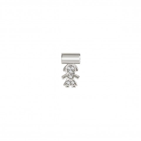 SeiMia_Pendant_with_Little_Girl_Symbol_in_Sterling_Silver_and_Cubic_Zirconia