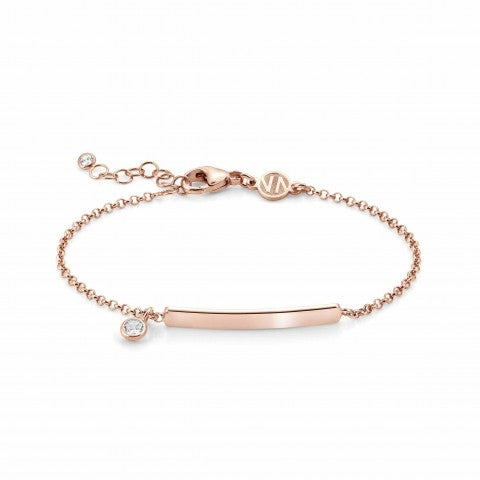 Rose_gold_Gioie_Bracelet_with_inscribable_plaque_Sterling_Silver_bracelet_with_Swarovski_Zirconia