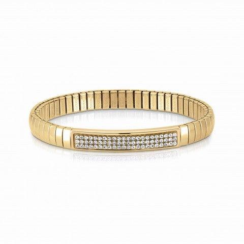 Glitter_Stretch_bracelet_with_Stones_Bracelet_in_stainless_steel_with_Swarovski