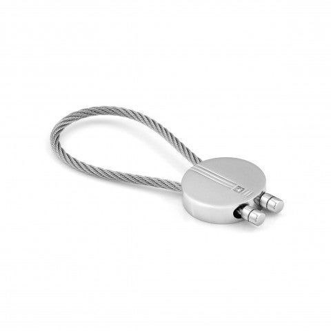 Class_rounded_keyring_with_Diamond_Rounded_Steel_Keyring_with_Diamond