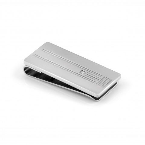 Class_money_clip_with_Diamond_Rectangular_Steel_Money_clip