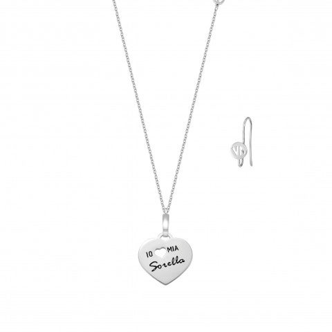 I_Love_my_sister_Messaggiamo_Necklace_Steel_Necklace_in_the_shape_of_a_heart