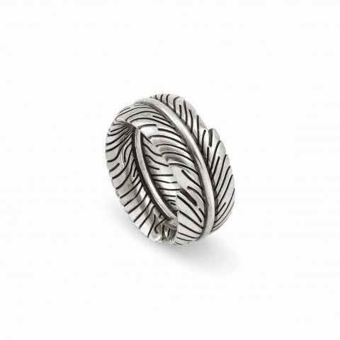 Feather-Shaped_Freedom_Ring_in_Brass_Ring_in_brass_and_silver_plated_finish