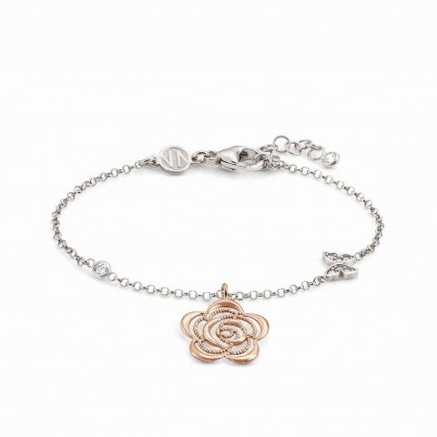 Primavera_Bracelet_with_Flower_Pendant_Bracelet_with_symbol_pendant_in_rose_gold_and_Zirconia