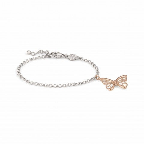 Primavera_Bracelet_with_Butterfly_Bracelet_with_pendant_in_22K_rose_gold