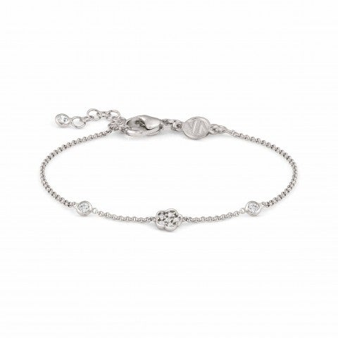 Primavera_Bracelet_in_Silver_with_Flower_Bracelet_with_symbol_in_sterling_silver_and_Zirconia