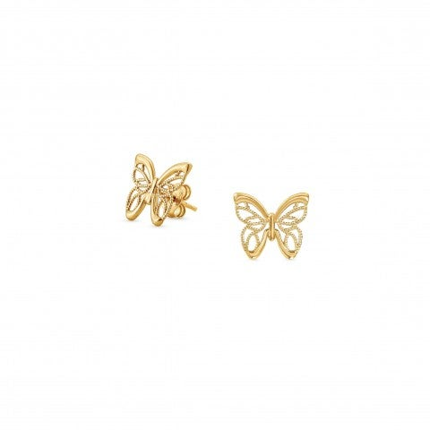 Primavera_Earrings_in_Gold_with_Butterfly_Earrings_with_finishing_in_24K_gold
