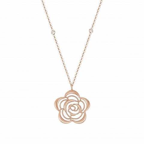 Primavera_Necklace_in_Rose_Gold_with_Flower_Necklace_with_22K_rose_gold_finishing