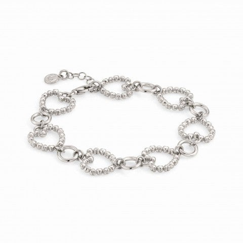 Rockinlove_Bracelet_Silver_Edition_with_Heart_chain_Bracelet_in_Silver_with_Heart