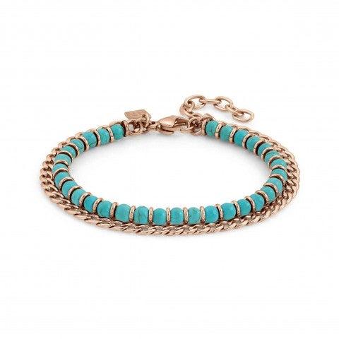 Instinct_Bracelet_in_Rose_Gold_and_Gemstones_Bracelet_with_coloured_gemstones