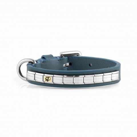 Composable_Dog_Collar_Small_Size_Personalised_dog_collar_in_leather