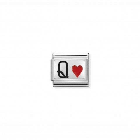 Composable_Classic_Link_Queen_of_Hearts_Link_with_letter_Q_and_heart_symbol_#oneformeoneforyou