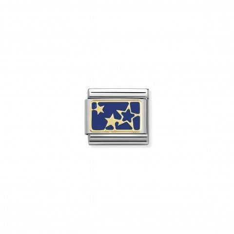 Composable_Classic_Link_Gold_Stars_Blue_Plate_Symbol_with_blue_coloured_symbol