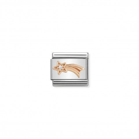 Composable_Classic_Link_Rose_gold_Shooting_Star_Link_in_Rose_gold_with_white_stone