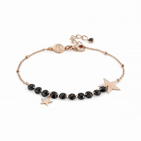 Melodie_Bracelet_with_Stars_Bracelet_in_silver_with_pendants_and_black_crystals