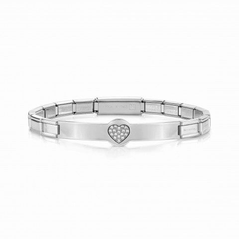 Trendsetter_Bracelet_Heart_with_Cubic_Zirconia_Bracelet_in_stainless_steel_with_symbol