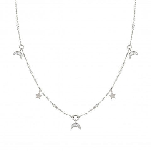 Nightdream_Necklace_with_Moon_and_Stars_Necklace_in_sterling_silver_and_Zirconia