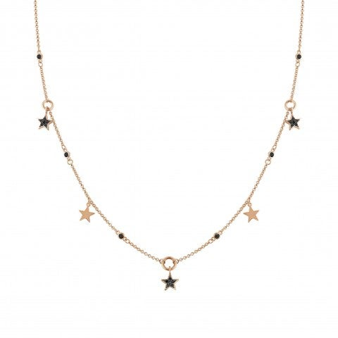 Nightdream_Necklace_with_Black_Stars_Necklace_with_pendants_and_Zirconia