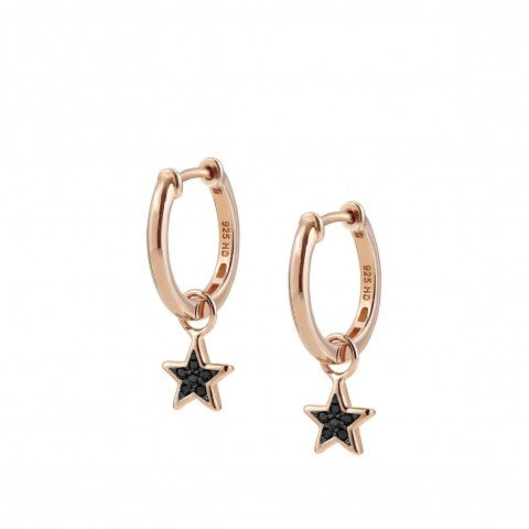 Nightdream_Earrings_with_Star_Pendant_Earrings_with_black_Cubic_Zirconia