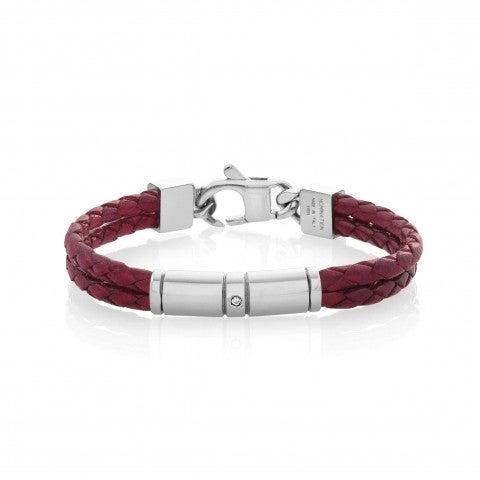 Bracelet_Tribe_double_en_cuir_coloré_Bracelet_tressé_à_double_tour_effet_Vintage
