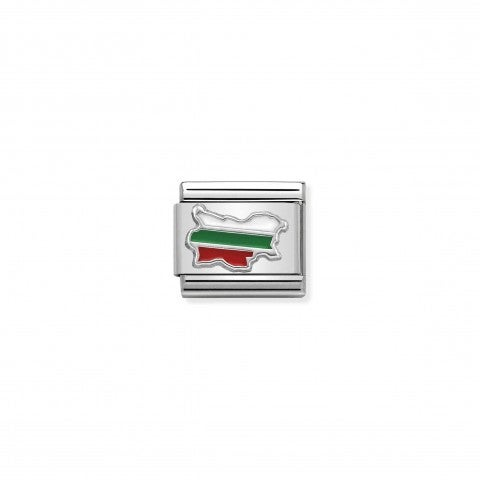 Composable_Classic_Link_Bulgaria_Flag_Link_in_sterling_silver_and_enamel