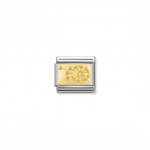 Link_Composable_Classic_Dente_dei_Leone_Oro_giallo_Link_in_Oro_giallo_999