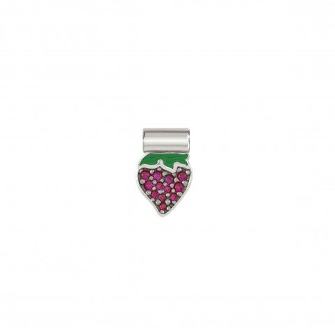 SeiMia_Strawberry_Charm_Pendant_with_coloured_Cubic_Zirconia