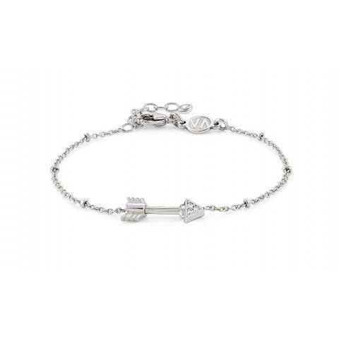 SeiMia_Bracelet_with_Arrow_Bracelet_in_silver_with_Zirconia