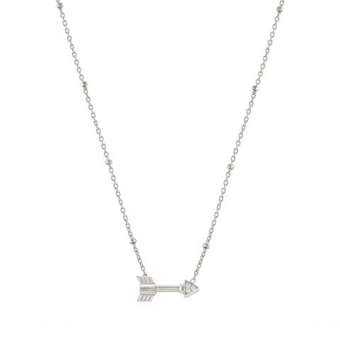 Necklace_with_small_Arrow_Necklace_in_silver_and_Zirconia