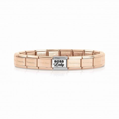Bracciale_Composable_Classic_Boss_Lady_Bracciale_con_Base_Oro_rosa