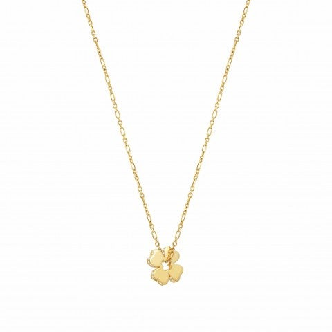 Essentials_Gold_Four-Leaf_Clover_Necklace_Necklace_with_pendant_and_Zirconia
