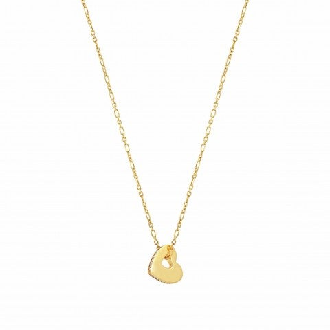 Essentials_Gold_Heart_Necklace_Necklace_with_pendant_and_Zirconia