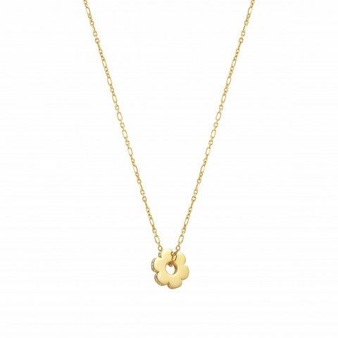 Essentials_Gold_Flower_Necklace_Necklace_with_pendant_and_Zirconia
