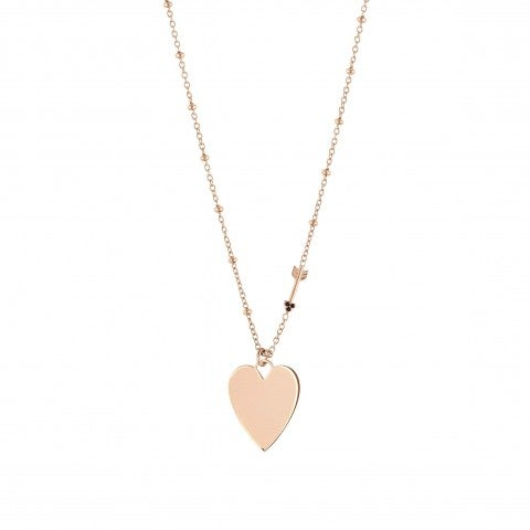 Antibes_Necklace_with_Heart_Necklace_in_silver_with_pendant_and_Arrow