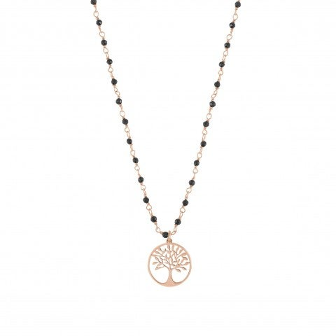 Antibes_Necklace_with_Tree_of_Life_Necklace_in_silver_with_black_crystals